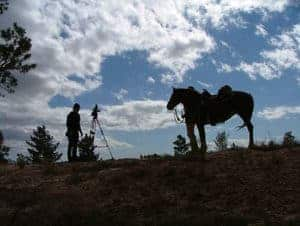071-Spanish_Trail_silouette_horse_and_camera