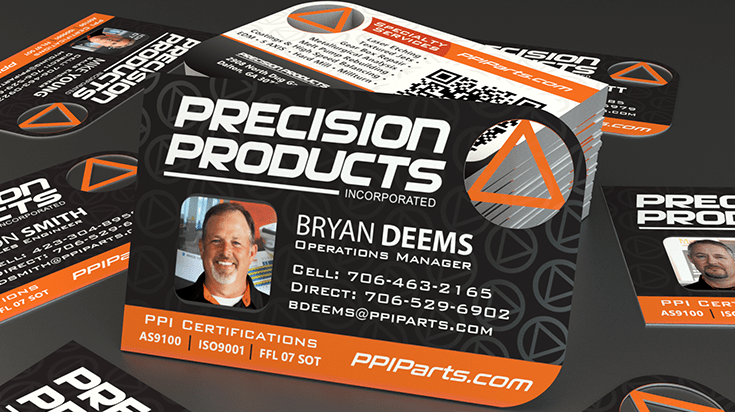 PrecisionPRoducts-BUsinessCard-THUMB