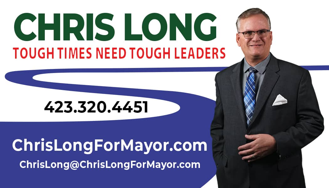 Chris Long Campaign Business Card FRONT